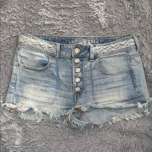 Jean shorts!!!